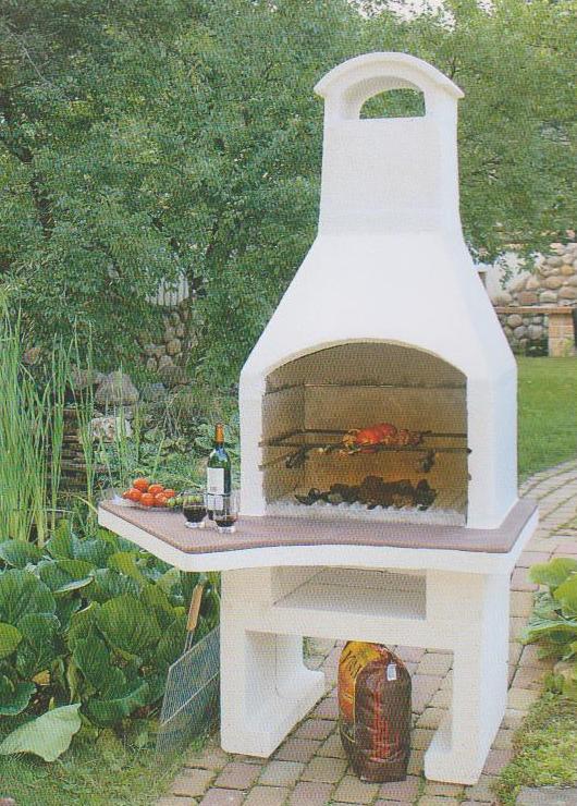 Печка мангал для дачи